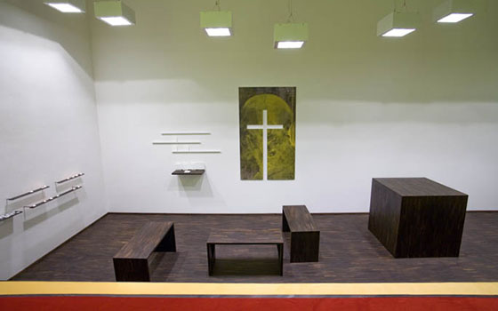 Chapel room Saint Peter Youth Culture Church