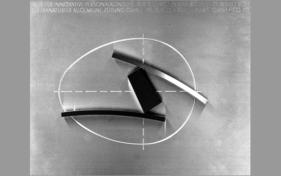 Sculpture for the Award for Innovative Personnel