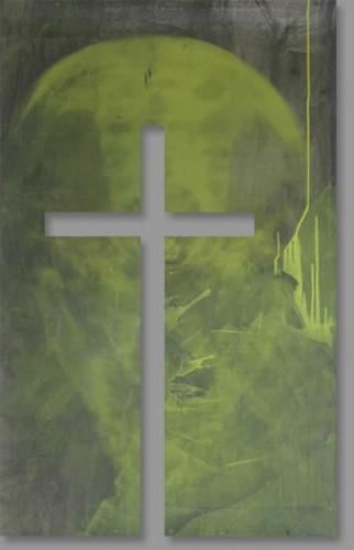"""Das Kreuz im """"Raum der Stille"""""""