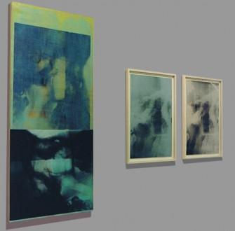 Strahlenbild Ausstellungsfoto (links)
