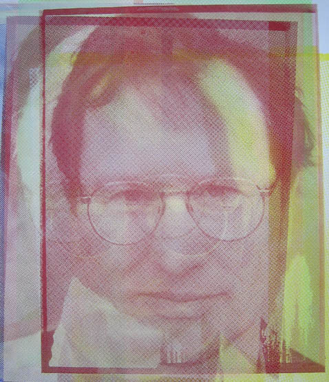 Bernd Fischer - Portrait auf Papier-1
