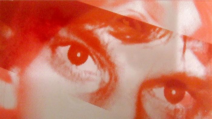 Ohne Titel (R-J), Glasmalerei