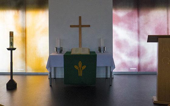 Gemeindesaals der evangelischen Wicherngemeinde