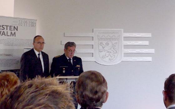 Gedenktafel Polizei-Hessen