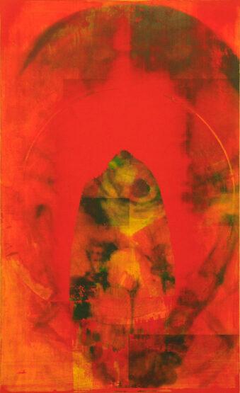 Tafelbild Körperraumstudie, 1996