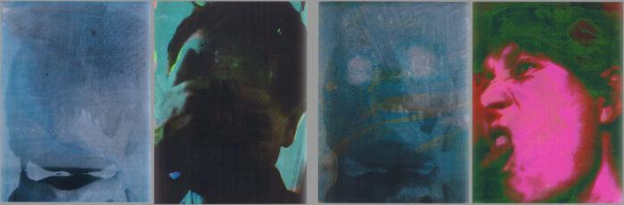 Tafelbilder O.T. (205, 123, 219, 218) 2007
