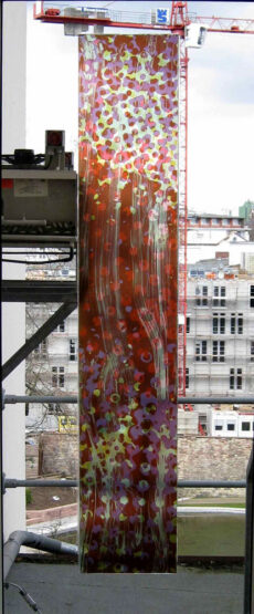Glasmalerei O.T. 2006 0324