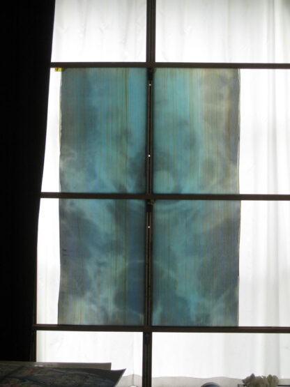 Glasmalerei 2009 vier Antikglasscheiben
