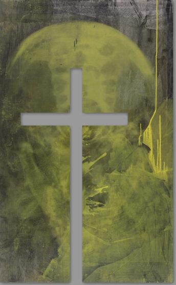 Kreuz in der Kapelle der jugend-kultur-kirche-sankt peter